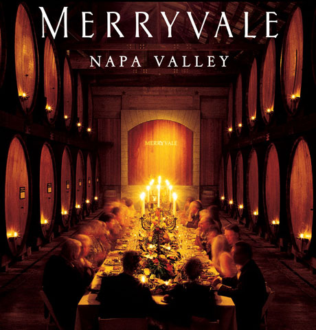 Merryvale Cask Room Leading Wineris of Napa