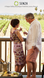 Leading Wineries of Napa accommodations Senza a Napa Valley Boutique Hotel and Luxury Resort